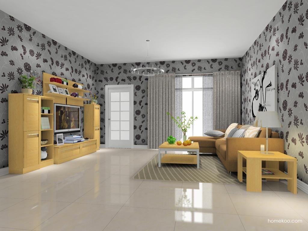 丹麦本色客厅家具D13802