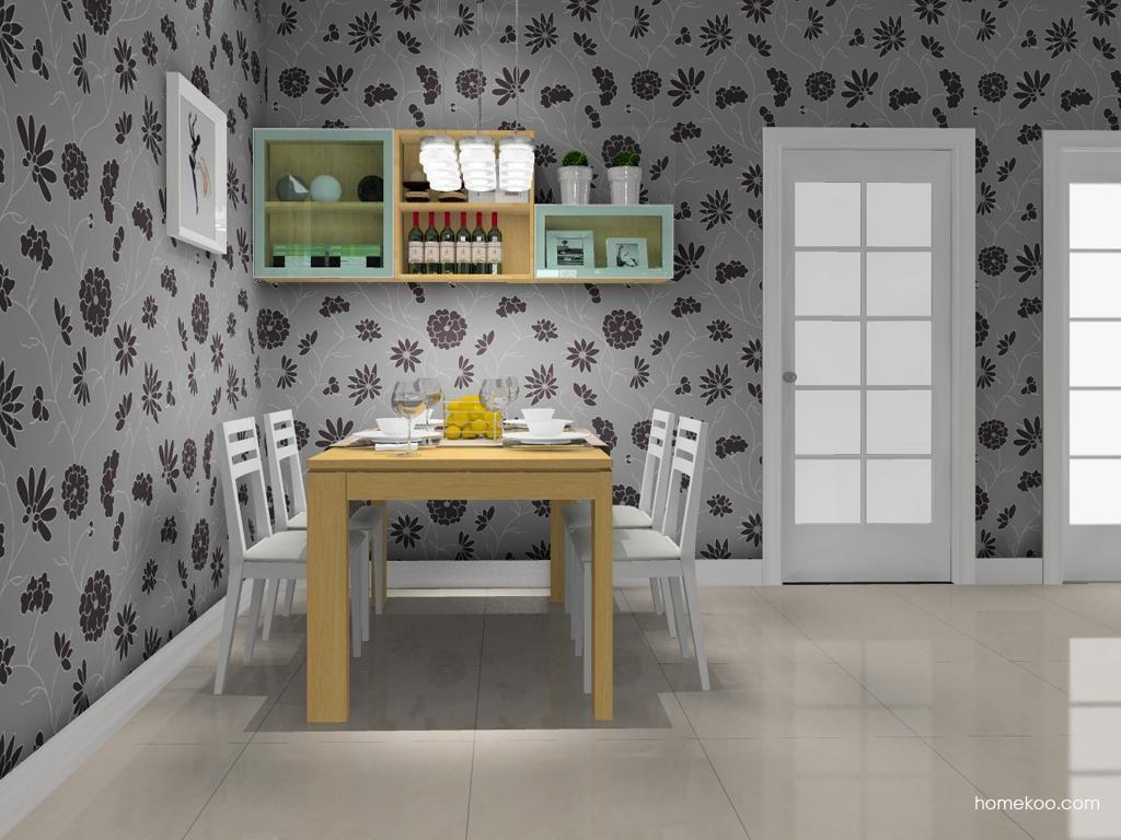 丹麦本色餐厅家具E10793