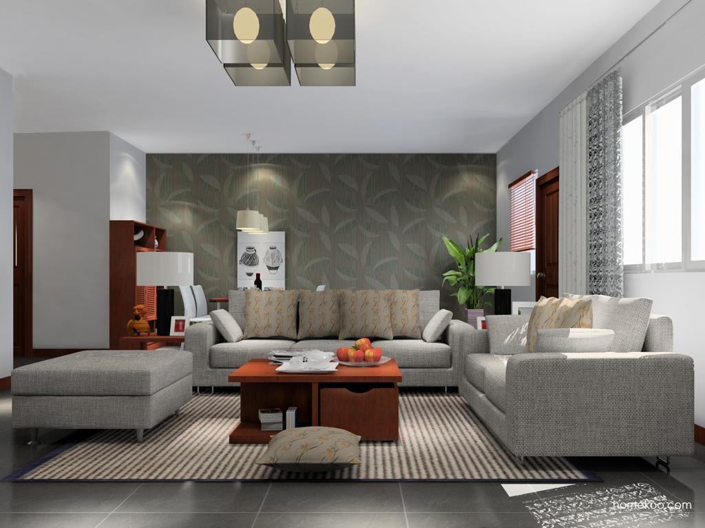 新中式主义客厅家具D13809