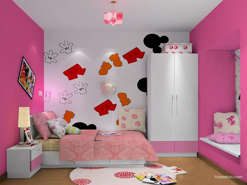 女孩的梦青少年房B12090