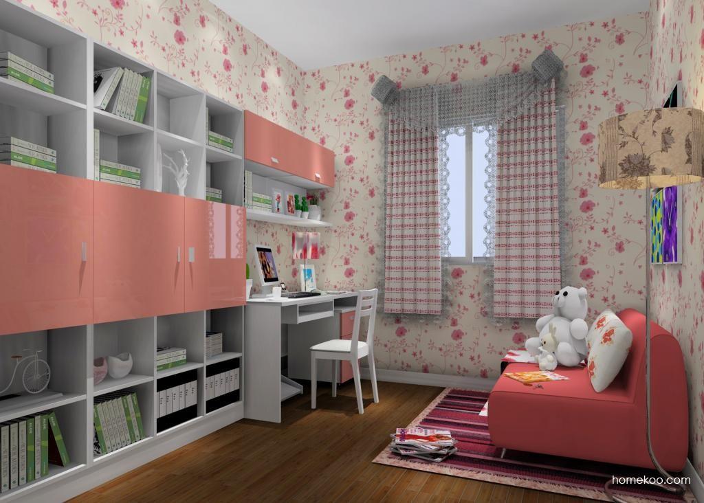浪漫主义书房家具C11657