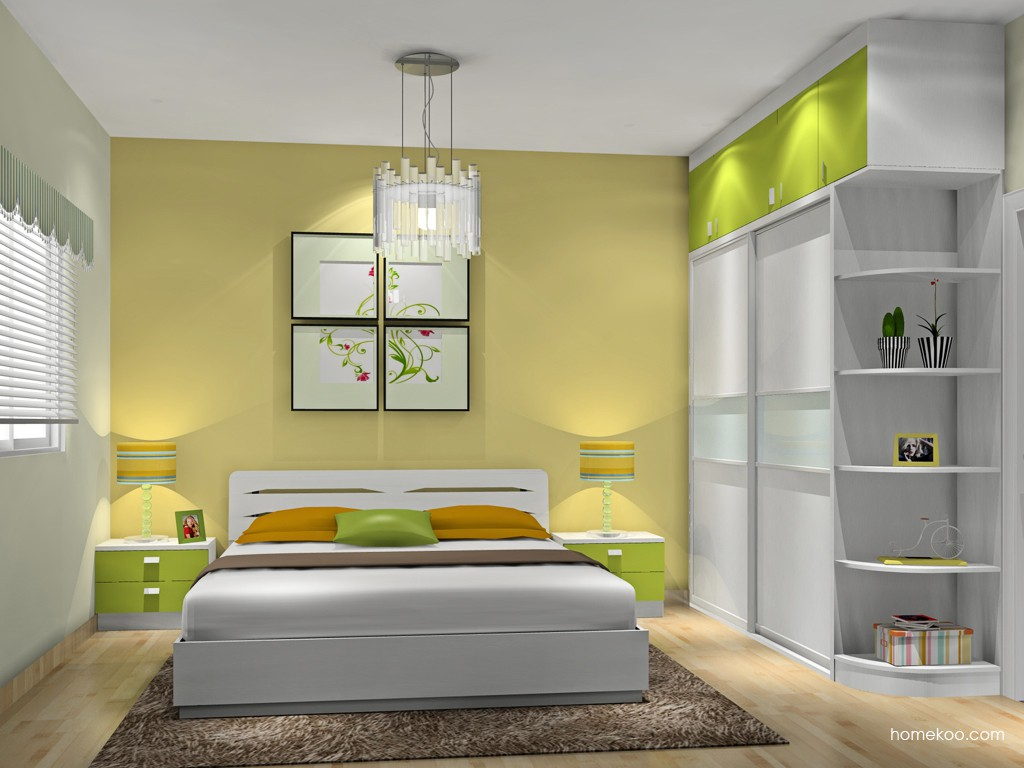 浪漫主义卧房家具A14134