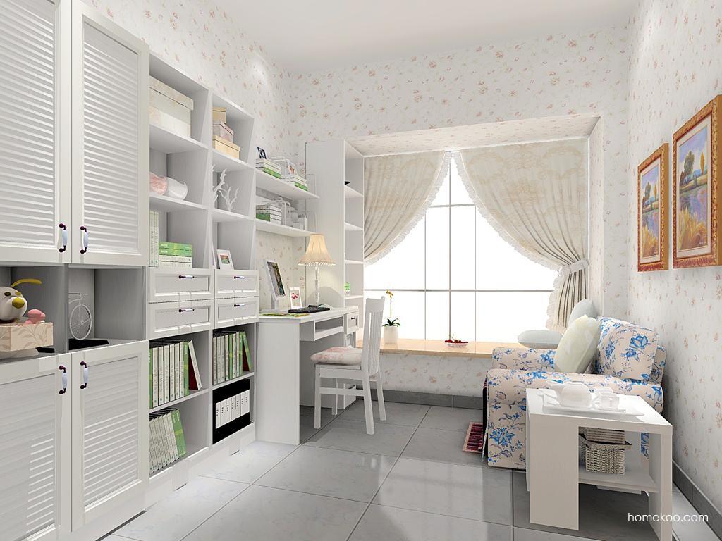 韩式田园书房家具C11660