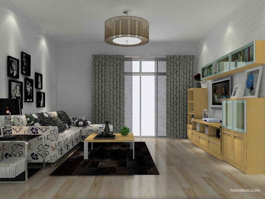丹麦本色客厅家具D13816