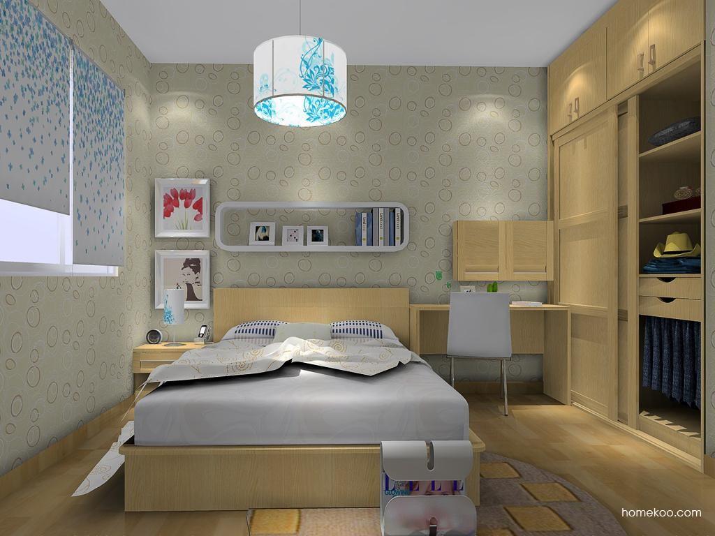 丹麦本色卧房家具A14142
