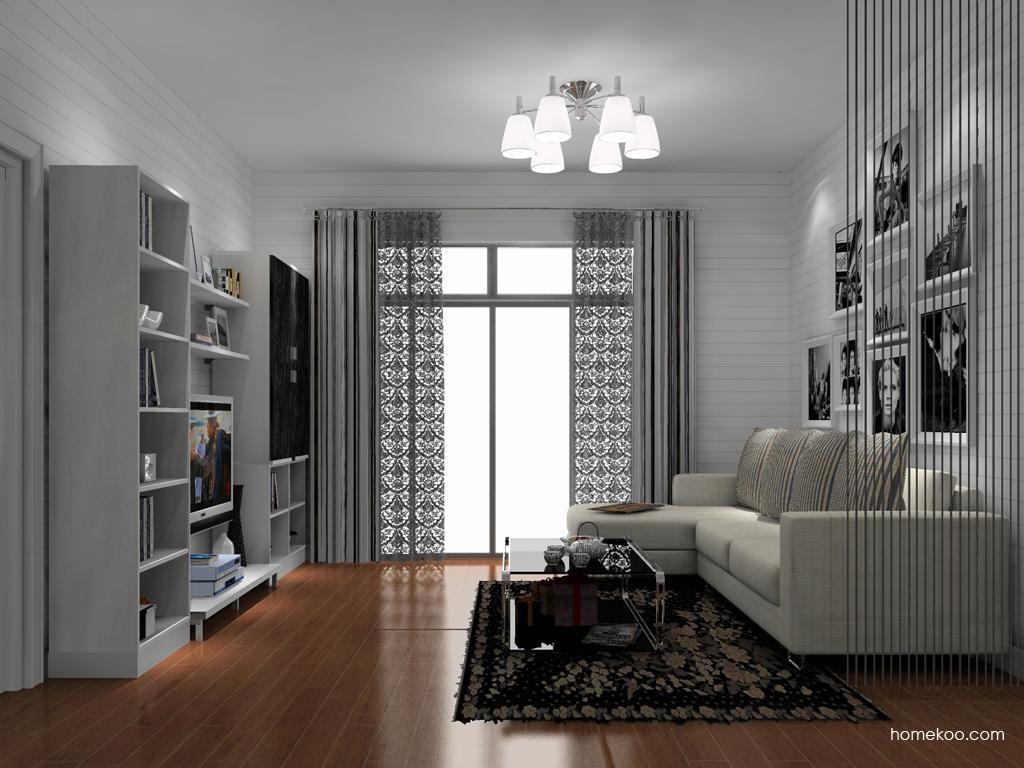 简约主义客厅家具D13819