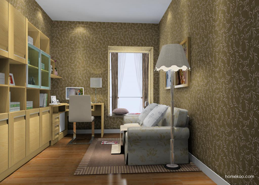 丹麦本色书房家具C11676