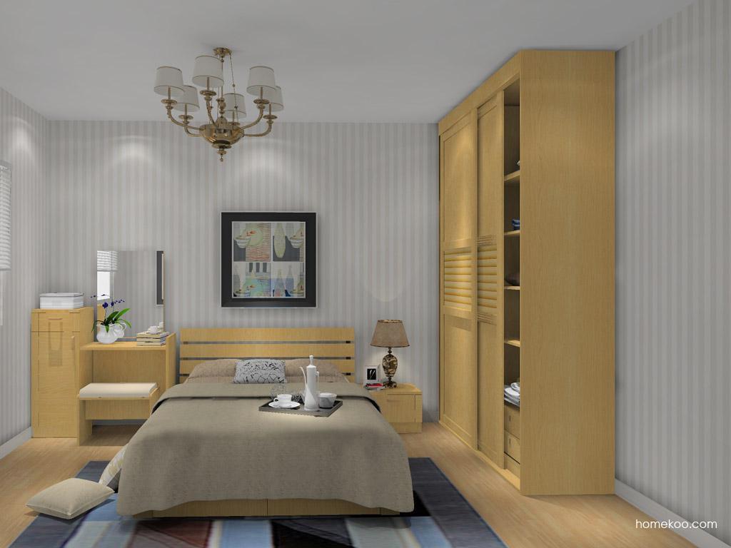 丹麦本色卧房家具A14150