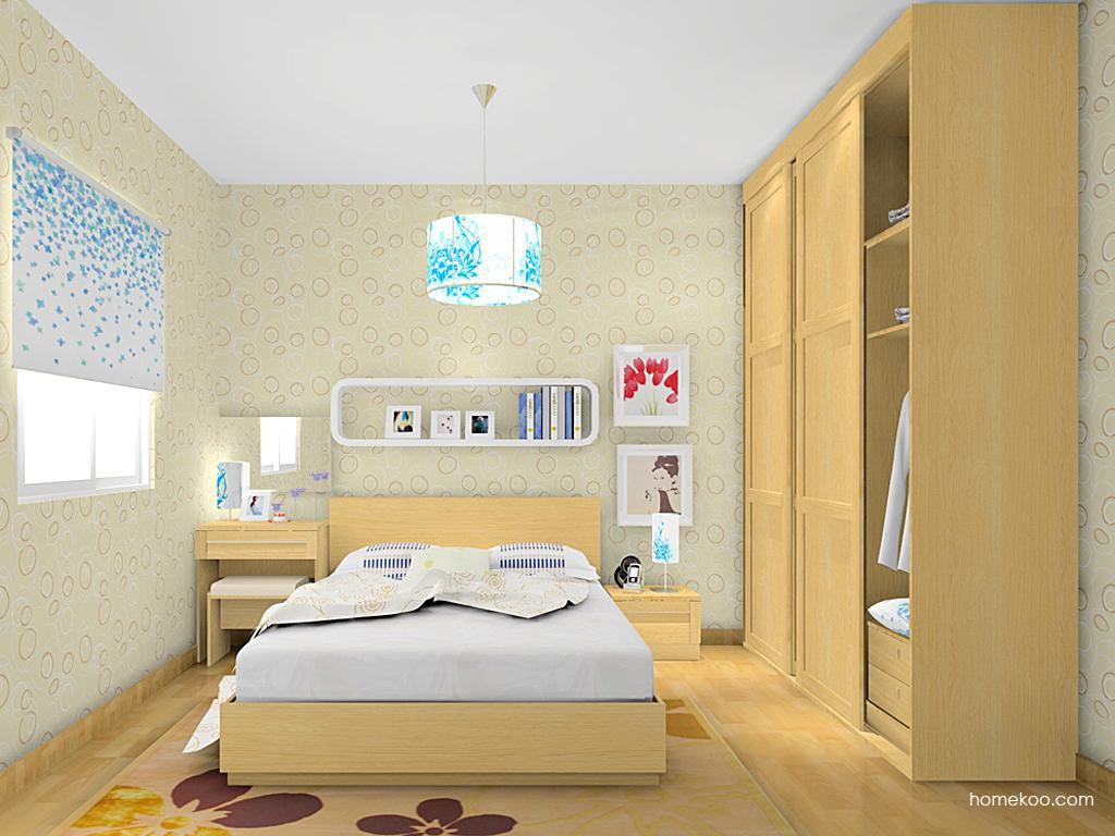 丹麦本色卧房家具A14162