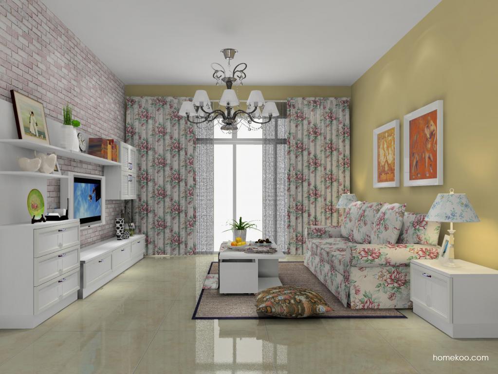 韩式田园客厅家具D13824