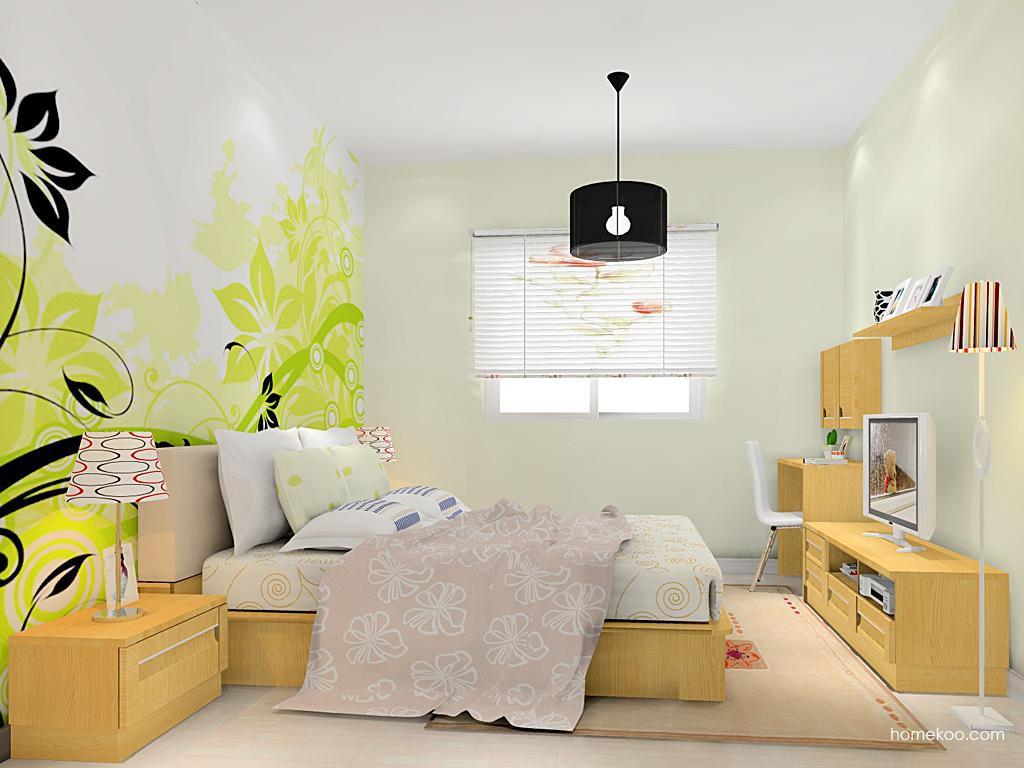 丹麦本色卧房家具A14172