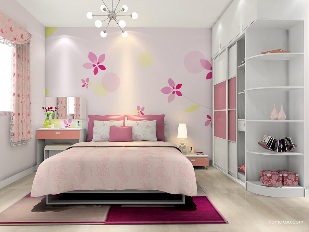 浪漫主义卧房家具A14193