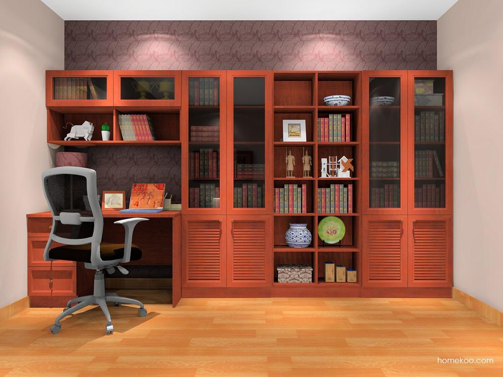 新中式主义书房家具C11693