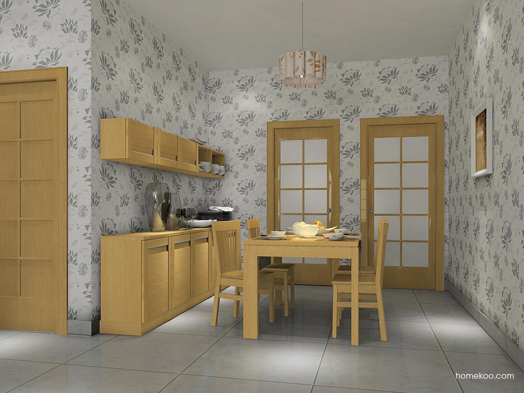丹麦本色餐厅家具E10819
