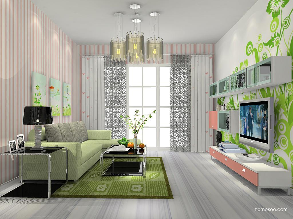 浪漫主义客厅家具D13831