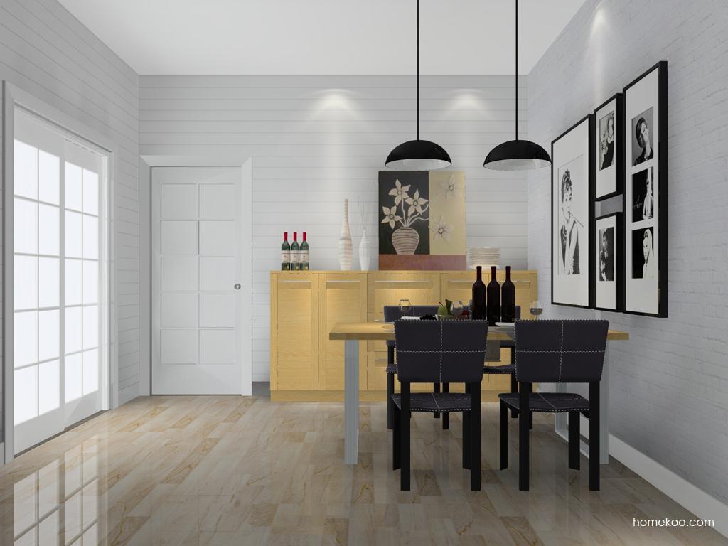 丹麦本色餐厅家具E10835