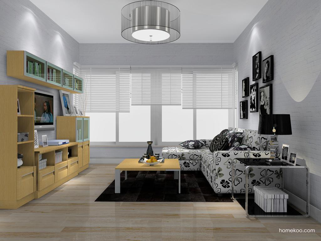 丹麦本色客厅家具D13847