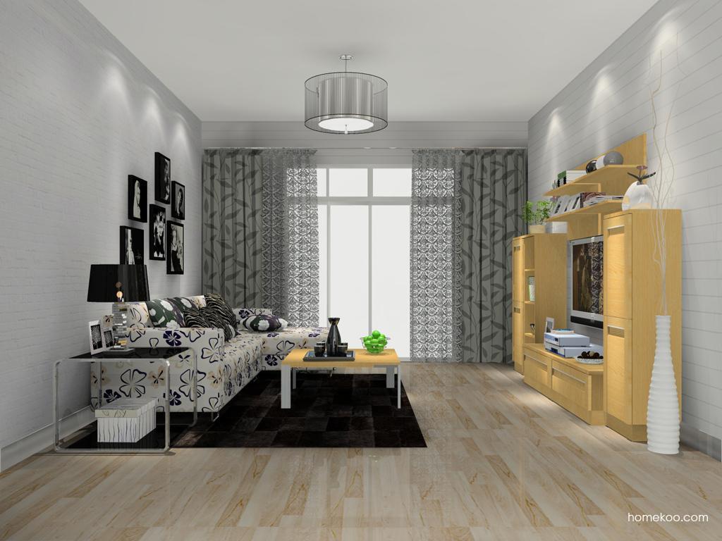 丹麦本色客厅家具D13852