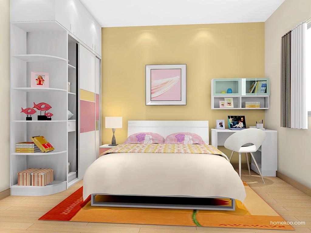 浪漫主义卧房家具A14298