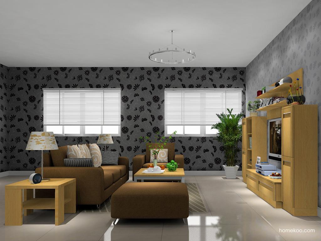 丹麦本色客厅家具D13864