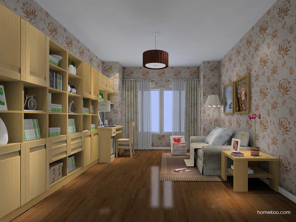 丹麦本色书房家具C11731