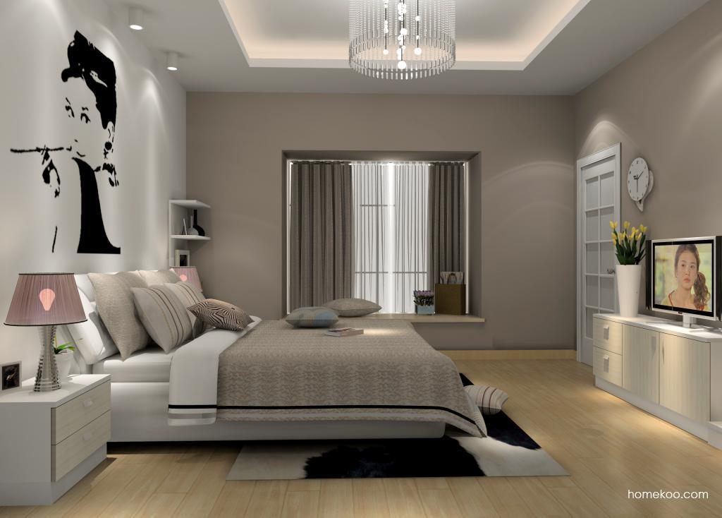 新实用主义卧房家具A14267
