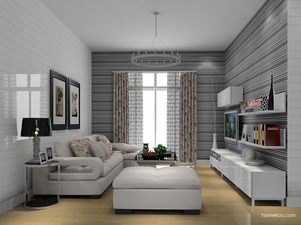 浪漫主义客厅家具D13869