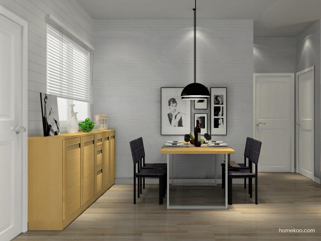 丹麦本色餐厅家具E10862
