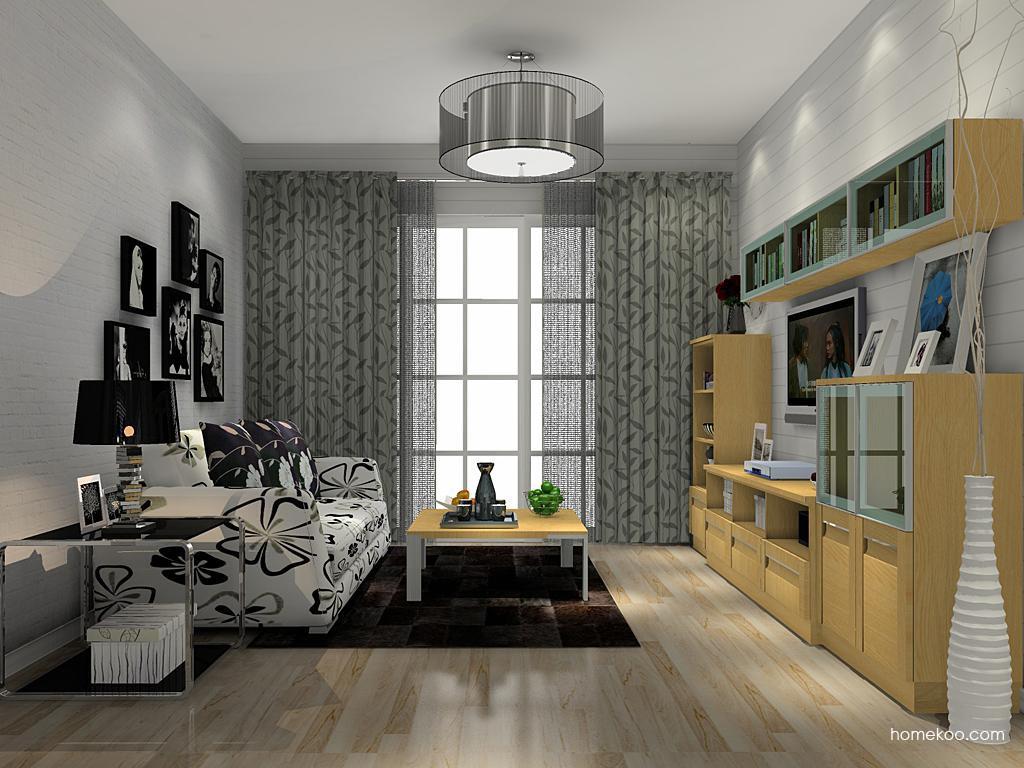 丹麦本色客厅家具D13873