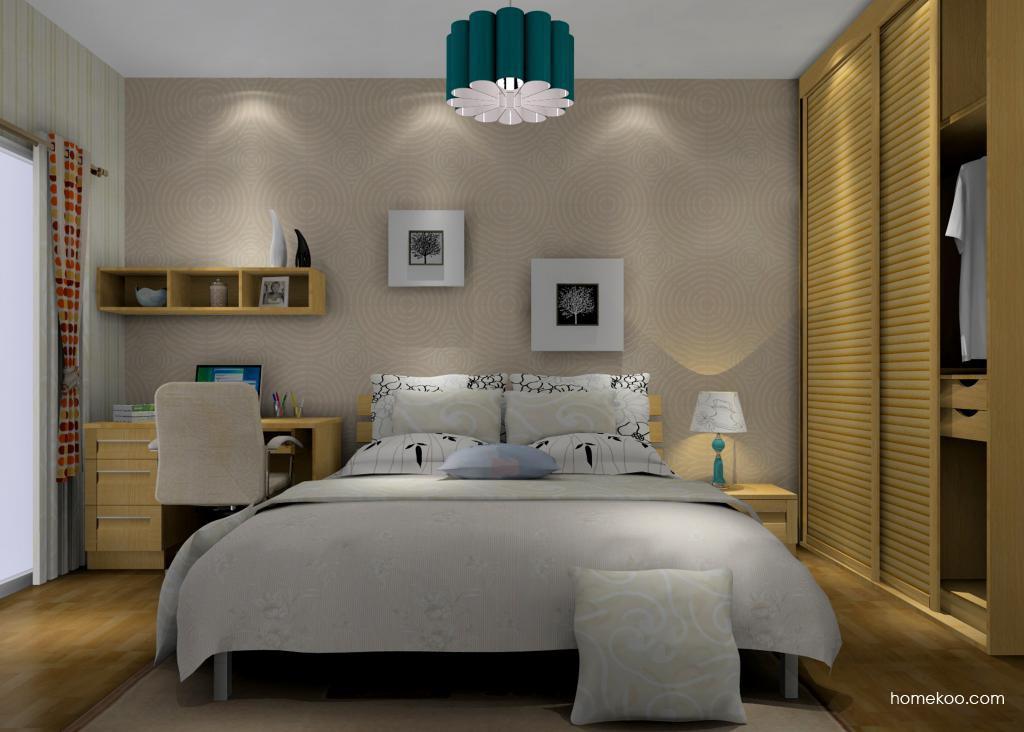 丹麦本色卧房家具A14309
