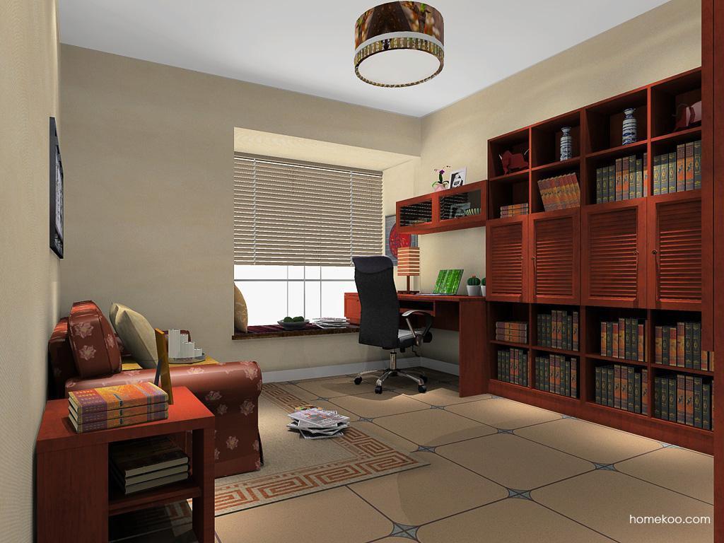 新中式主义书房家具C11751