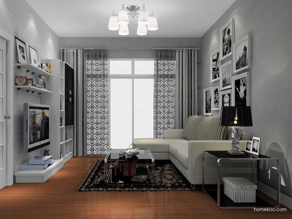 简约主义客厅家具D13879