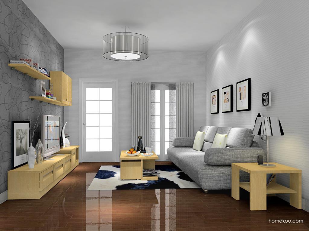 丹麦本色客厅家具D13882