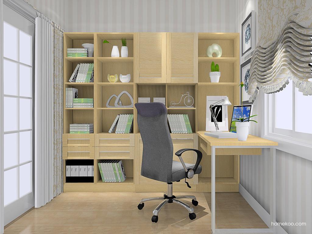 丹麦本色书房家具C11763