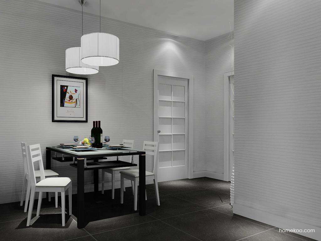 新实用主义餐厅家具E10881