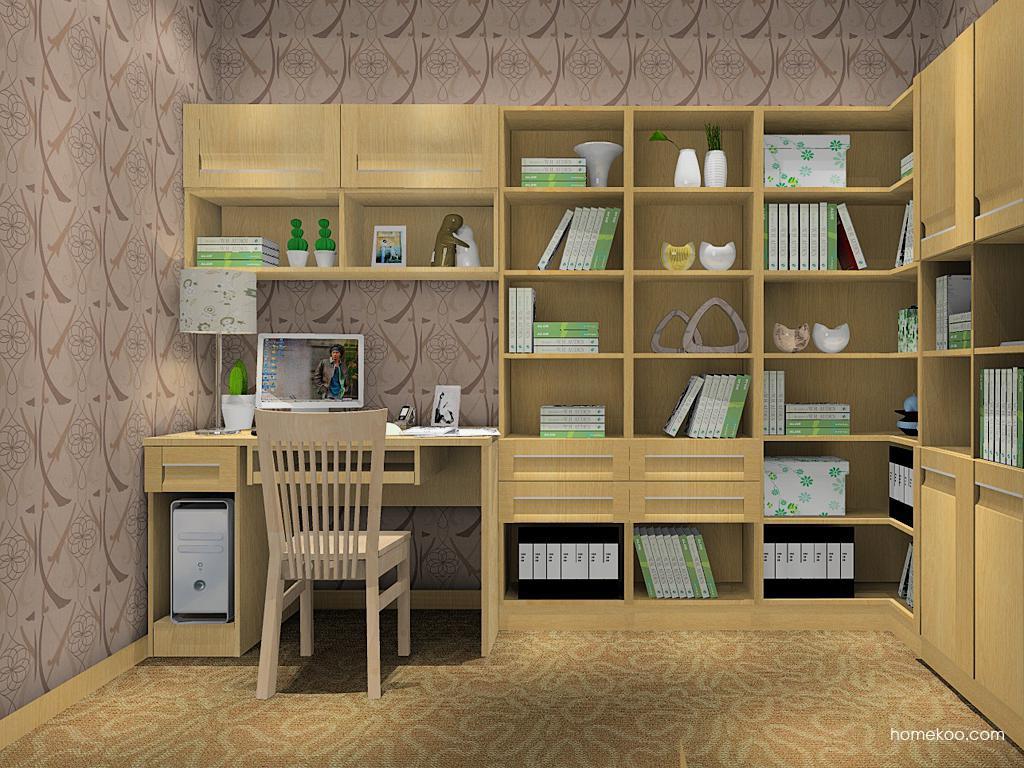丹麦本色书房家具C11767