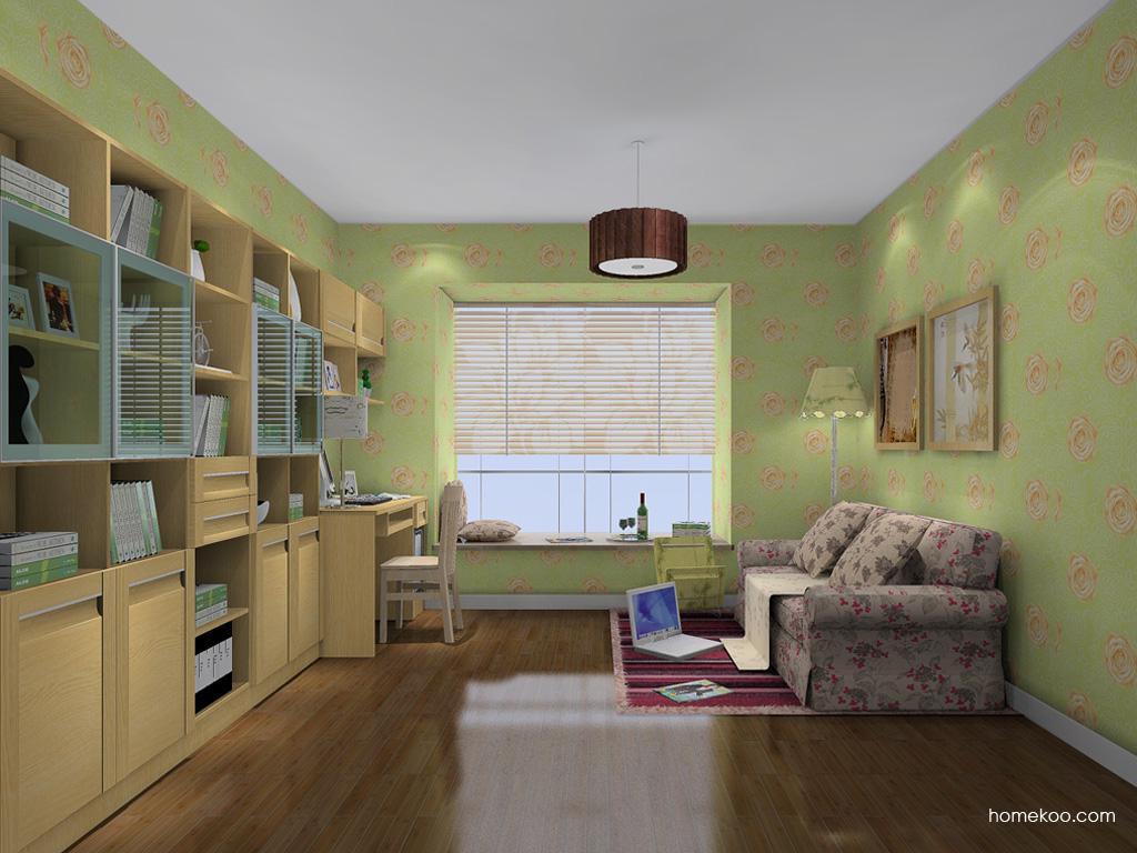 丹麦本色书房家具C11769