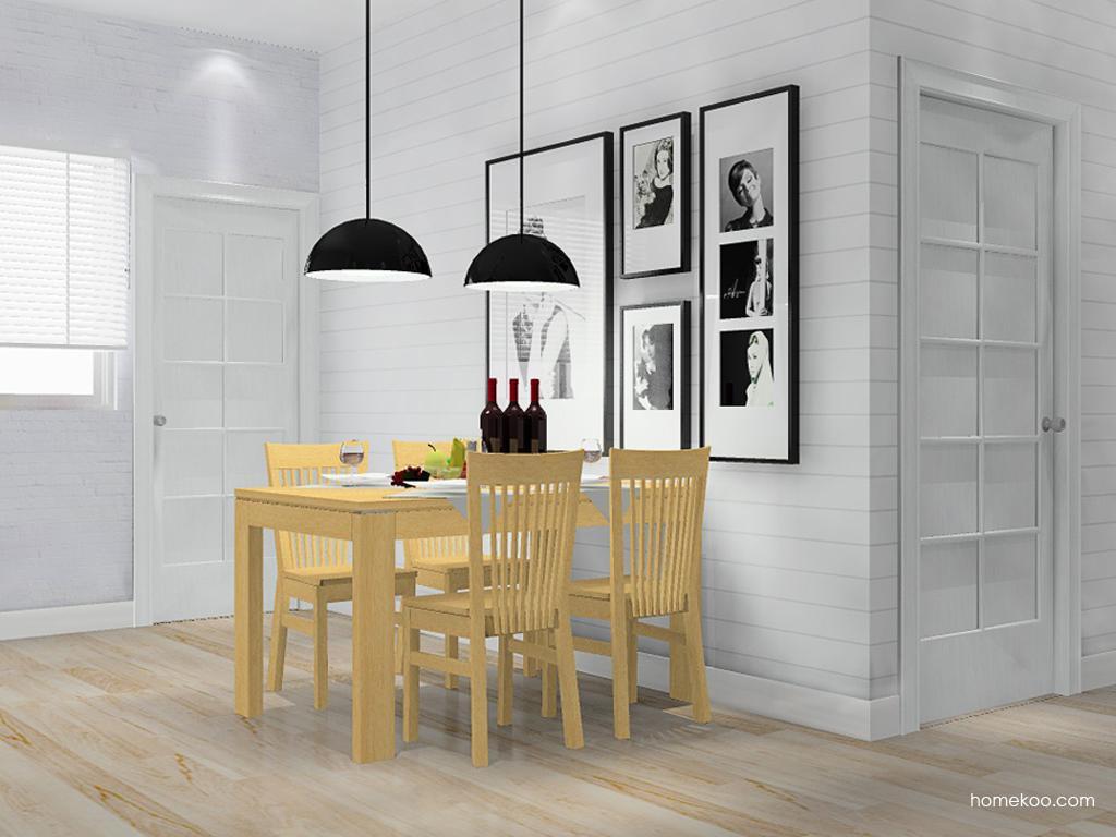 丹麦本色餐厅家具E10887