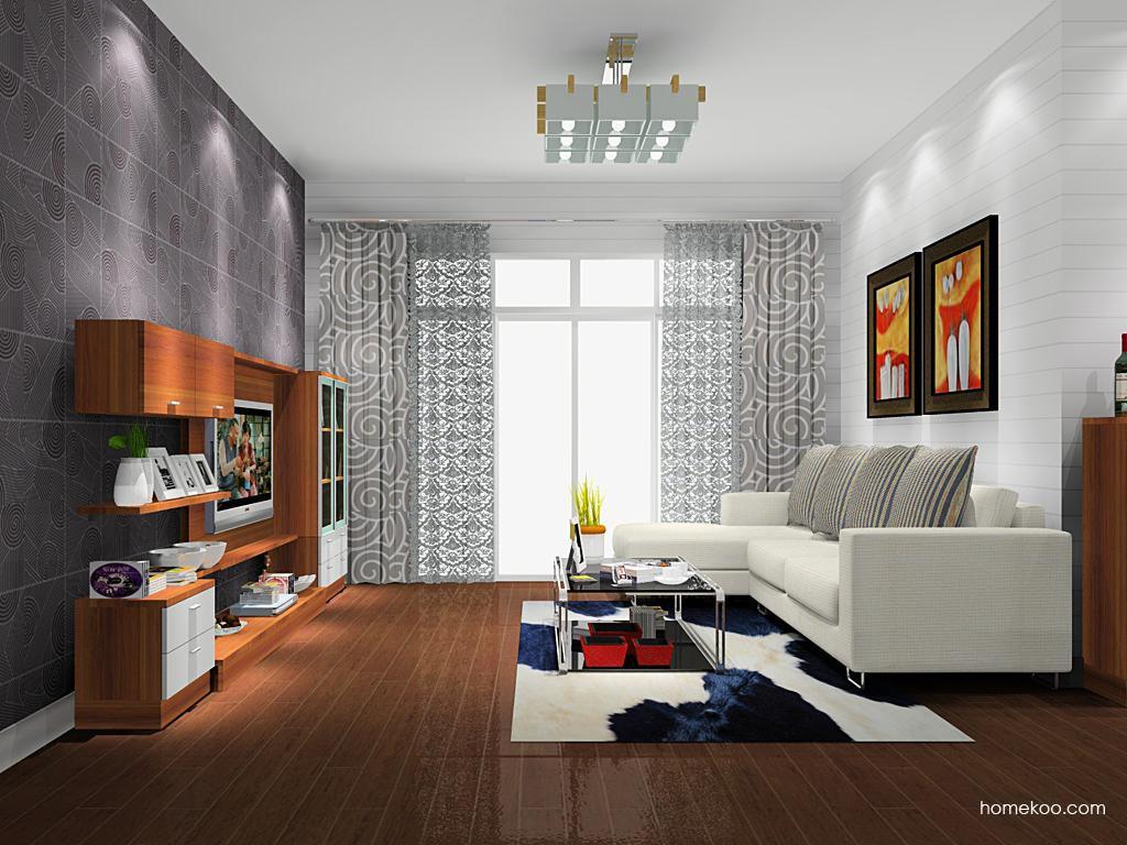 新实用主义客厅家具D13901