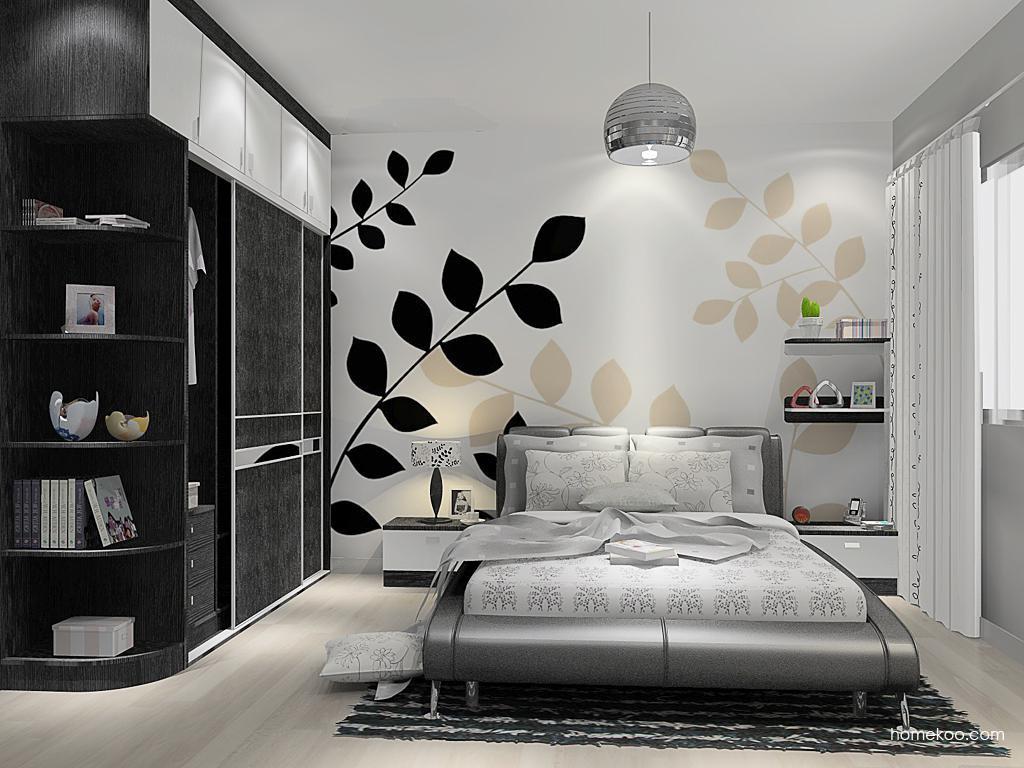 简约主义卧房家具A14365