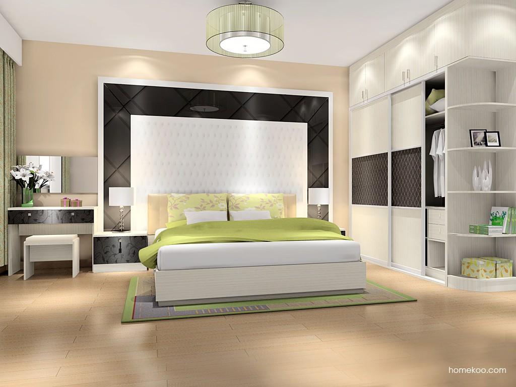米兰剪影卧房家具A14385