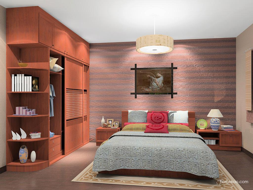 新中式主义卧房家具A14384