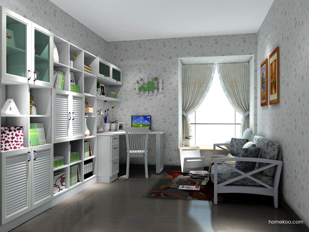 韩式田园书房家具C11771