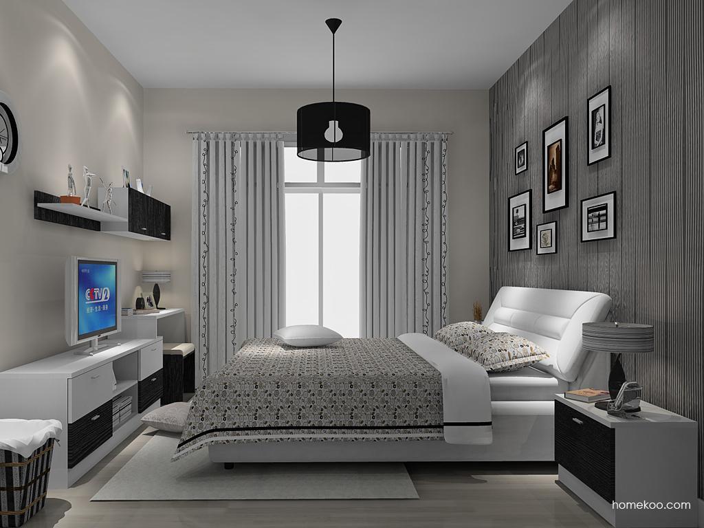 简约主义卧房家具A14402