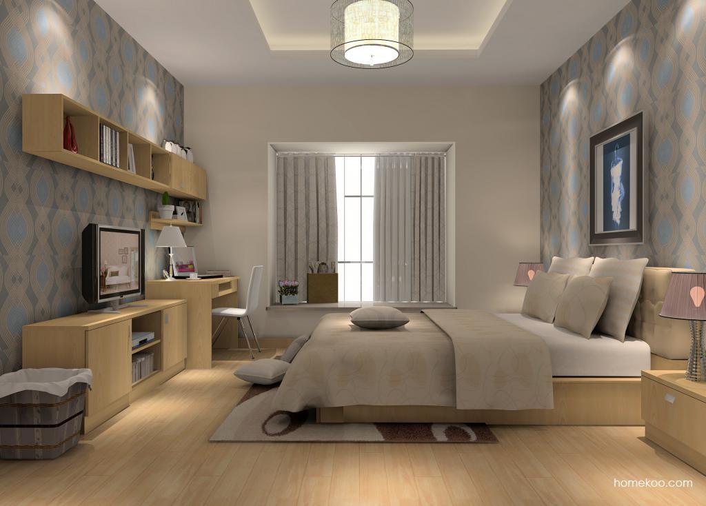 新实用主义卧房家具A14407