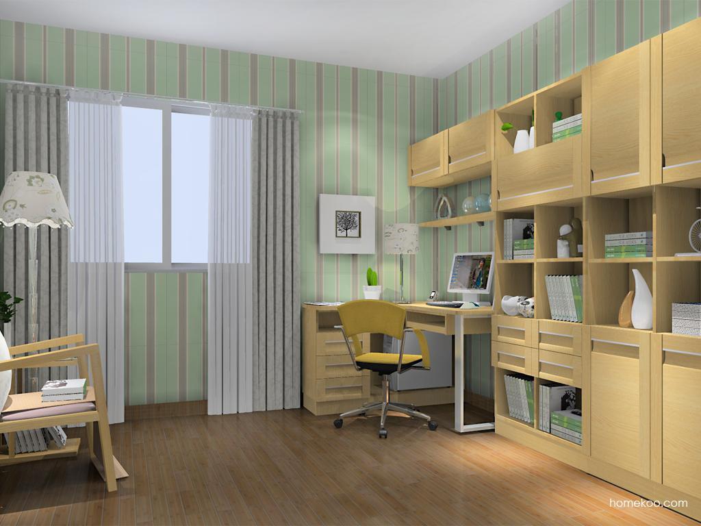 丹麦本色书房家具C11781