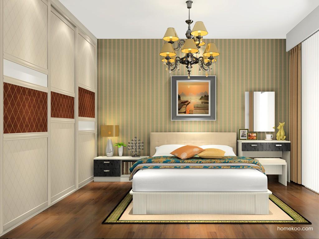 米兰剪影卧房家具A14455