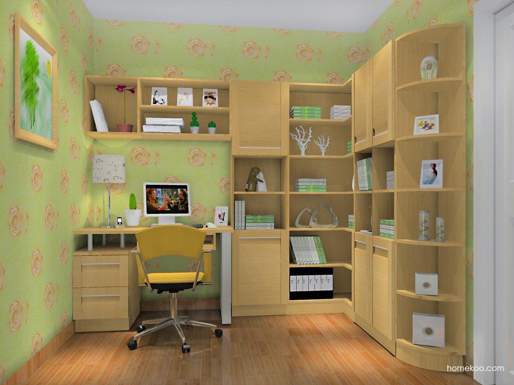 丹麦本色书房家具C11786