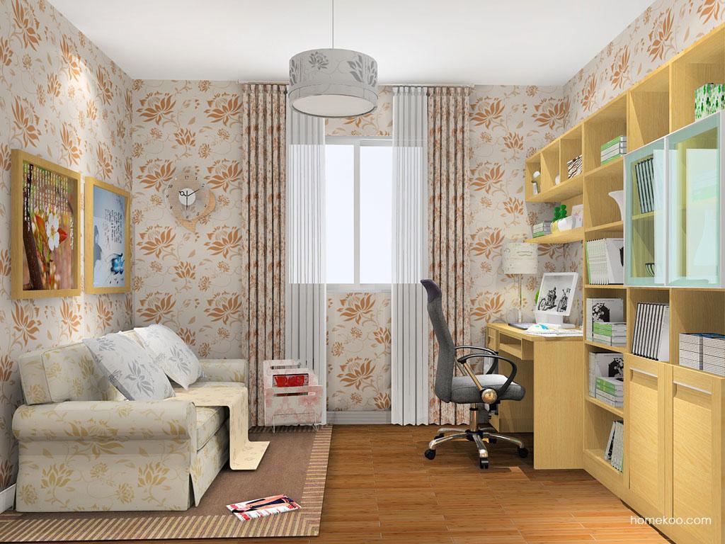 丹麦本色书房家具C11787
