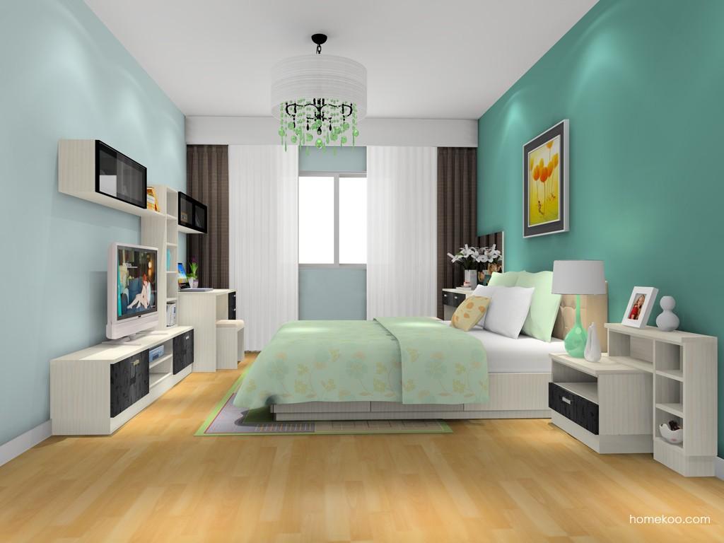 米兰剪影卧房家具A14476